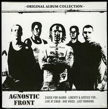 Agnostic Front Original Album Collection 5 CD new Cause For Alarm CBGB One Voice