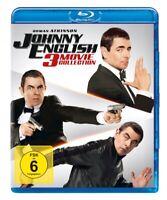 JOHNNY ENGLISH 3-MOVIE COLLECTION - ATKINSON,ROWAN  3 BLU-RAY NEUF
