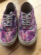 VANS Ladies Size UK 5 Purple