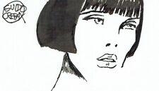 GUIDO CREPAX - Signed original sketch