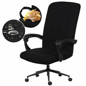 Water Resistant Stretch Computer Office Chair Cover with Durable Zipper Universa