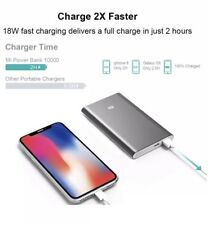 Portable Charger Xiaomi Mi Slim Power Bank Pro 10000mAh, 18W Fast Charging
