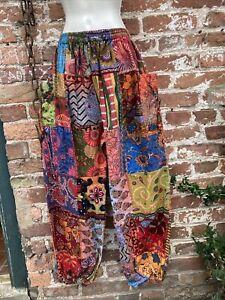 hippie/boho/alternative free size baggy alibaba harem trousers Ethnic