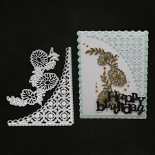 Flower Lace Frame Cutting Dies Stencil Templates Paper Card Scrapbook Album DIY