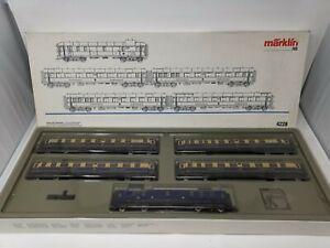Märklin H0 4228 Schnellzugwagen-Set - Rheingold, neu in OVP