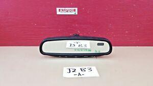 2003-2007 Nissan Murano Auto Dim Compass Homelink Rear View Mirror OEM