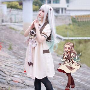 Toilet-Bound Jibaku Shounen Hanako-Kun Nene Yashiro Cosplay Dress Wig Costume