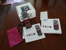 Samsung SGH-T239 T-Mobile Cellular Phone Red/Maroon in box