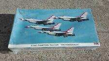 HASEGAWA HOBBY KITS F - 16C FIGHTING FALCON THUNDERBIRDS 1/48