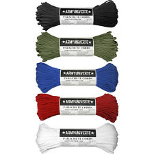5 Pack - 550LB 100% Nylon Paracord 7 Strand Parachute Cord Rope 500 Feet