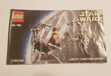 Lego Star Wars Jedi Defense 1 7203 Instructions Manual ONLY