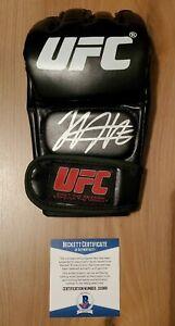 Khabib Nurmagomedov Signed Autographed UFC Glove COA BAS Beckett #z10369