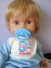 CICCIOBELLO GIOCHI PREZIOSI BY SEBINO FUNZIONANTE CIUCCIO BAMBOLA doll bebè