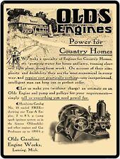 """OLDS GASOLINE ENGINE WORKS 9"""" x 12"""" Sign"""