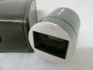 TECHNO-VIEW 28mm Hot Shoe Viewfinder, Cased