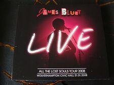 Slip CD Double: James Blunt : All The Lost Souls Tour Live Wolverhampton 2008