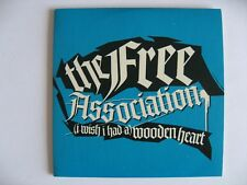The Free Association–I Wish I Had A Wooden Heart –Maxi Promo Single CD–AMP011CDP