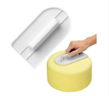 Useful Decorating Fondant Craft Simple Mold Cake Smoother Polisher Tool Cutter F