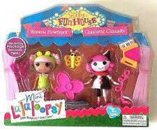 Lalaloopsy Mini Doll Silly Fun House Blossom & Flowerpot Charlotte Charades Set