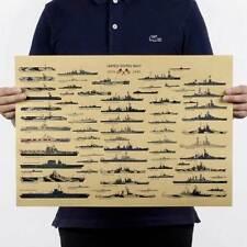 Poster parete vintage MARINA AMERICANA U.S. Navy esercito militare 36x51 cm