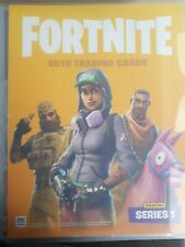 Panini Fortnite Trading Cards 2019 200 cards 1-200 set in binder fresh from pack