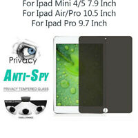 Privacy Anti-Spy HD PET Film Screen Protector For Ipad MINI 5/4 Ipad Air/Pro