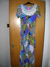 Las Nuevas Señoras Talla 14 16 18 XL XXL Sexy Maxi Vestido encantador travesti Ropa Interior Femenina