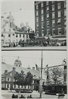 York Pa 1st Capitol of the United States Comparison 1919-1991 View 5 Postcard P2