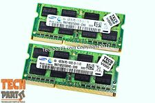 8GB Kit 2x4GB 1333Mhz PC3-10600S DDR3 2Rx8 SO-DIMM 204-Pin MEMORY RAM 2010 2011