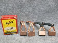 Shurhit X-236 Starter Brushes Brush Set NOS New Old Stock USA Made 24025