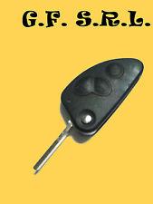 COVER CHIAVE GUSCIO TELECOMANDO ALFA ROMEO 147 156 166  3 TASTI
