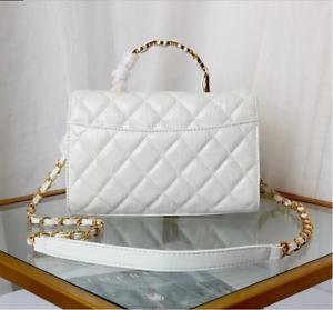 Women's Genuine Leather Bag Crossbody Shoulder Bag Shopper Luggage Red Handbag