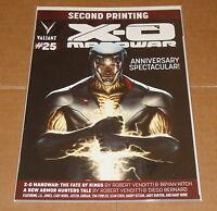 2012 Valiant X-O Manowar #25 2nd Variant Edition Anniversary Issue