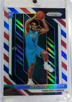 2018 18-19 Panini Red White Blue Prizm Devonte Graham #288, Refractor, Hornets