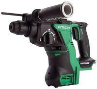 Hitachi DH18DBL/J4 18 V Cordless SDS-Plus Hammer Drill Brushless - Green/Black