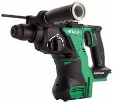 Hitachi DH18DBL/J4 18 V Cordless SDS-Plus Hammer Drill Brushless - Green/Black