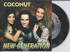 COCONUT - New generation CD SINGLE 2TR Pop Rock Europop 1995 BELGIUM