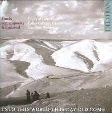 Carols Contemporary & Medieval, New Music