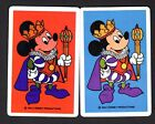 Vintage Swap/Playing Cards - Mickey Mouse Pair