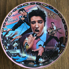 "Musical Tribute to Elvis the King - ""Rockin' in My Blue Suede Shoes� Plate"