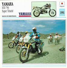 Yamaha xtz 750 super ténéré moto fuoristrada giappone 191 - 03-11 de agostini