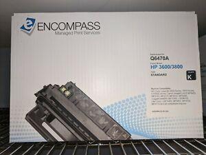 Encompass Q6470A HP 3800 3800N CP3505 BLACK TONER CARTRIDGE
