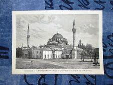 Costantinopoli nel 1878: La moschea di Bajazet