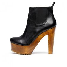 Madison Harding Francis Bootie Black size 8 NIB 70's-Inspired Boot $297