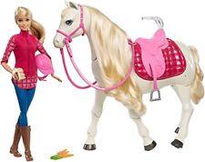 Mattel Barbie Traumpferd und Puppe Kinder Figuren Spielzeug Laufendes Pferd NEU