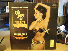 The Art of Belly Dancing Music of the Middle East by George Abdo MFS 752 LP