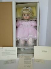 COA #143 NEW NEVER REMOVED FROM BOX MARIE OSMOND KEISHA TODDLER PORCELAIN DOLL