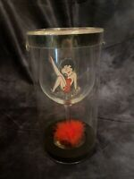 2007 - Betty Boop Oversized Wine Glass - Syndicate - Leg Up with Garter