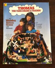 1993 Learning Curve Wooden Thomas Train Catalog! Extremely RARE!!