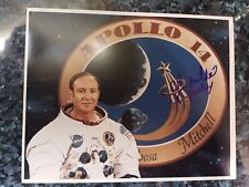 Astronaut Edgar Mitchell, Apollo 14 Hand Signed, Autographed 8x10 With C.O.A.